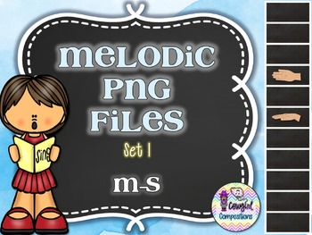 Melodic PNG Files Set 1 (M-S)