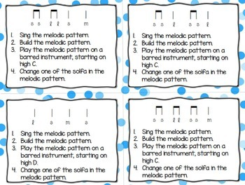 Melodic Task Cards