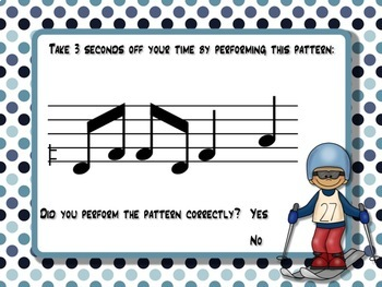 Melodic Winter Games for the Music Room: re (pentatonic)