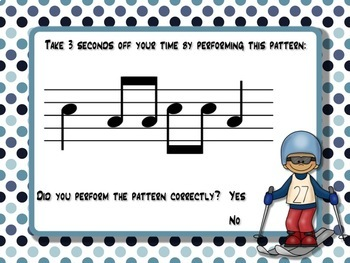 Melodic Winter Games for the Music Room: so-mi