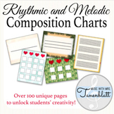 Melodic and Rhythmic Composition Charts