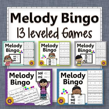 Melody Bingo Games {Bundle}