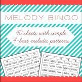 Melody Bingo Treble Clef