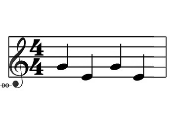 Melody Cards- Level 2 (LA SOL MI)
