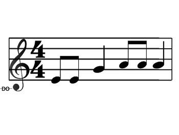 Melody Cards- Level 5 (LA SOL MI RE DO- more difficult)