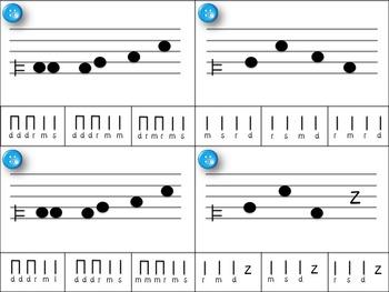 Melody Clip Cards - Pentatonic Practice