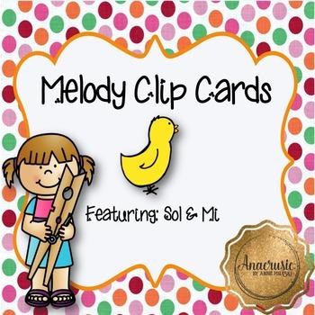 Melody Clip Cards - So/Mi Practice