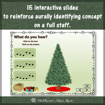 Christmas Music Game Do Re Mi Sol La: Interactive Melody Game Decorate the Tree
