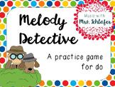 Melody Detectives - do
