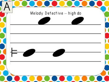 Melody Detectives - high do