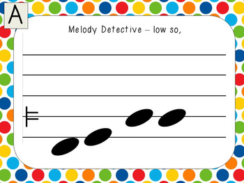 Melody Detectives - low so