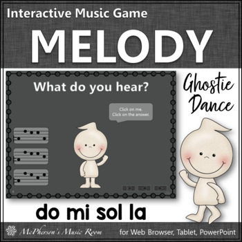 Melody Do Mi Sol La  - Ghostie Dance Interactive Music Game