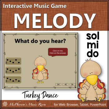 Melody Do Mi Sol (Sol Mi Do) - Turkey Dance Interactive Mu
