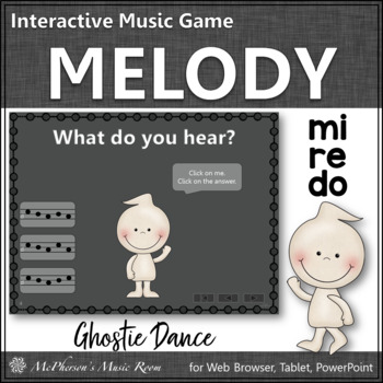 Melody Do Re Mi (Mi Re Do) - Ghostie Dance Interactive Music Game