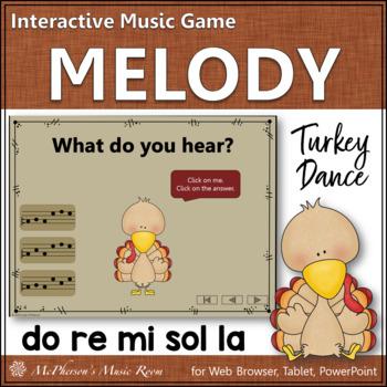 Melody Do Re Mi Sol La (DRMSL) - Turkey Dance Interactive