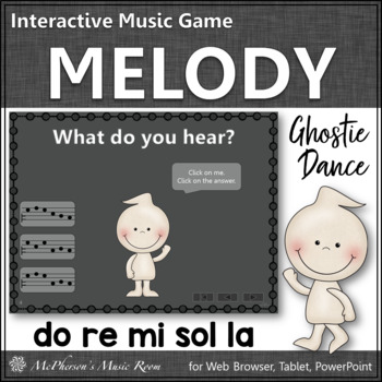 Melody Do Re Mi Sol La  - Ghostie Dance Interactive Music Game