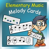 Music Cards: Melody Cards for Elementary Music