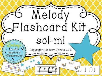 Melody Flashcard Kit: so-mi