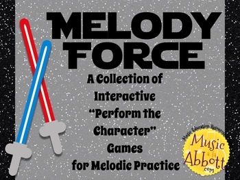 Melody Force {A Bundled Set of Melody Games for Reading}