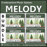 Christmas Music Games: Melody {Interactive Decorate the Tree Bundle}