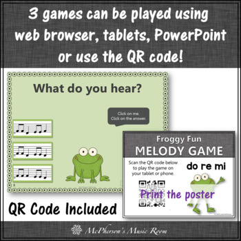 Melody Games {Do Re Mi Solfa} Interactive Music Bundle