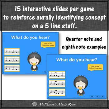 Melody Games {Do Re Mi Solfa} Interactive Music Bundle