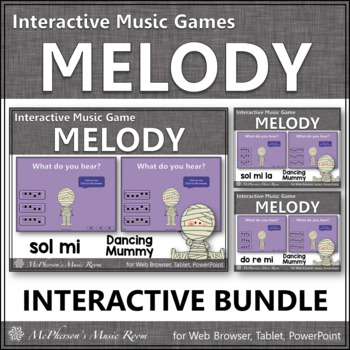 Melody Games Interactive Music Games {Dancing Mummy} Bundle