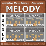 Solfege   Interactive Melody Games + Assessments {Tiger Bundle}