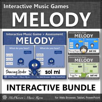 Melody Games {Sol Mi Solfa} Interactive Music Bundle