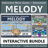 Solfege   Sol Mi Interactive Melody Games + Assessments {Bundle}