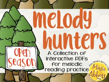 Melody Hunters {A Bundled Set of Melodic Games}