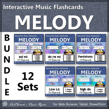 Melody Interactive Flash Cards {Bundle}