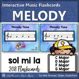 Melody Interactive Flash Cards {Sol Mi La}