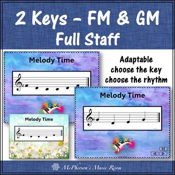 Melody Interactive Flash Cards {low Sol & La}