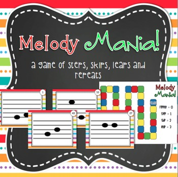 Melody Mania - Melodic Direction Game - steps, skips, leaps and repeats