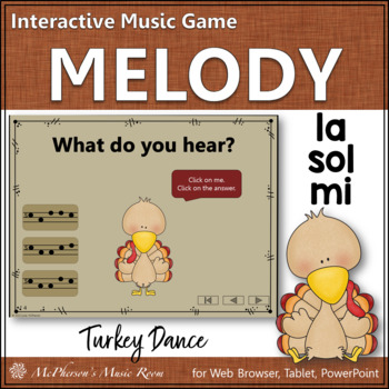 Melody Mi Sol La (Sol Mi La) - Turkey Dance Interactive Mu