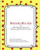 Melody Mix Up for Recorders