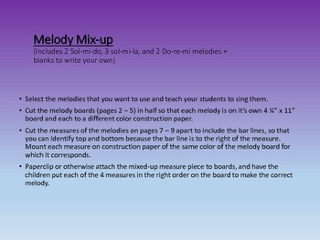 Melody Mix-up