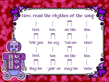 """Melody Munchers: a Disappearing Song file for """"Heel, Toe On the Line"""""""