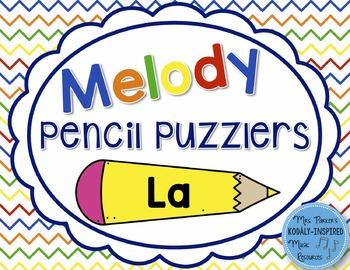 Melody Pencil Puzzlers {La}