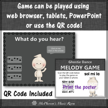 Melody Mi Sol La (La Sol Mi) - Ghostie Dance Interactive Music Game