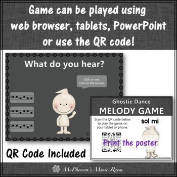 Melody Sol Mi (Mi Sol) - Ghostie Dance Interactive Music Game