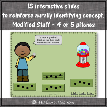 Melody Time with Do Re Mi Interactive Music Game + Assessment (gumball)