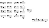 Melody- Bass Clef 4 quizzes/tests