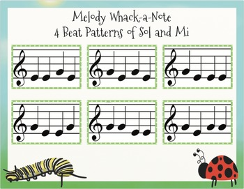 Melody Whack-A-Note: Sol-Mi and SoLaMi #RedWhiteAnd2