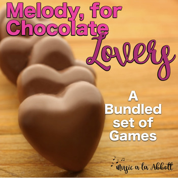 Melody for Chocolate Lovers {A Bundled Set of Games for Melodic Reading}