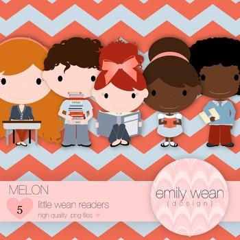 Melon - Little Readers Clip Art