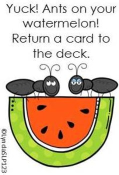 Melon Mania  (open ended card game)