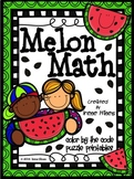 Color By Number Melon Math ~ 3 Digit Addition & Subtraction With Regrouping