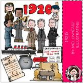 1920 clip art - COMBO PACK - Melonheadz clipart